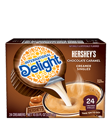 Hershey's Chocolate Caramel Coffee Creamer Singles