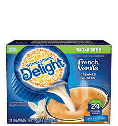Sugar Free French Vanilla Coffee Creamer Singles