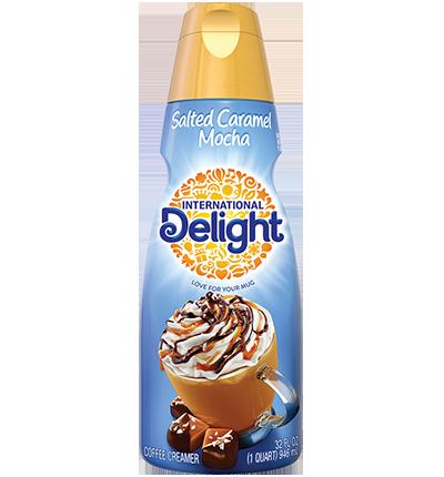 Salted Caramel Mocha Coffee Creamer