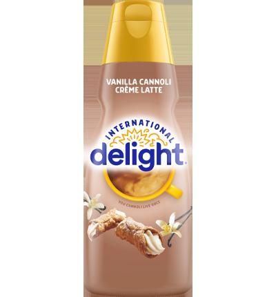 Vanilla Cannoli Creme Latte Coffee Creamer