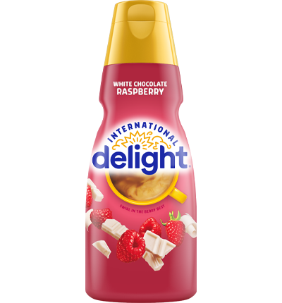 White Chocolate Raspberry Flavored Coffee Creamer