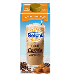 Caramel Macchiato Iced Coffee To Go