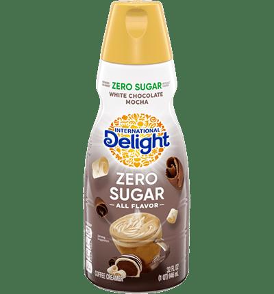 Sugar Free White Chocolate Mocha Coffee Creamer