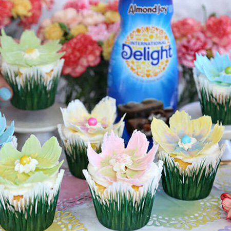 Chocolate Flower Cupcakes Recipe
