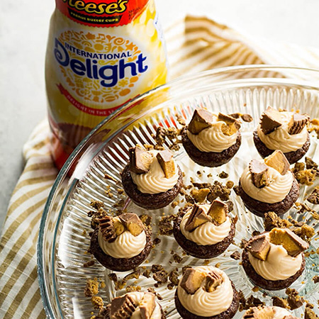 Peanut Butter Brownie Cups Recipe