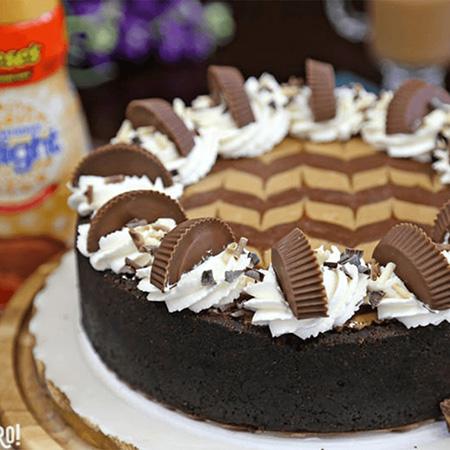 Peanut Butter Chocolate Cheesecake Recipe