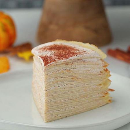 Pumpkin Spice Crepe Recipe