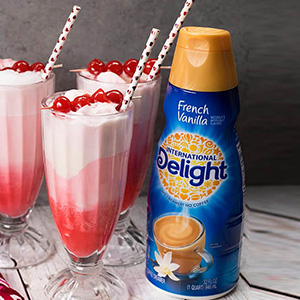 Cherry Vanilla Float Cocktail Recipe