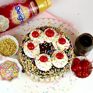 Chocolate Hot Fudge Sundae Layer Cake Recipe
