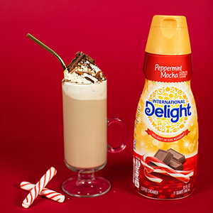 Classic Peppermint Mocha Coffee Drink Recipe
