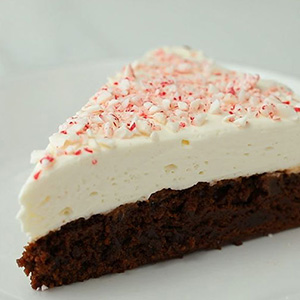 Peppermint Brownie Cheesecake Recipe
